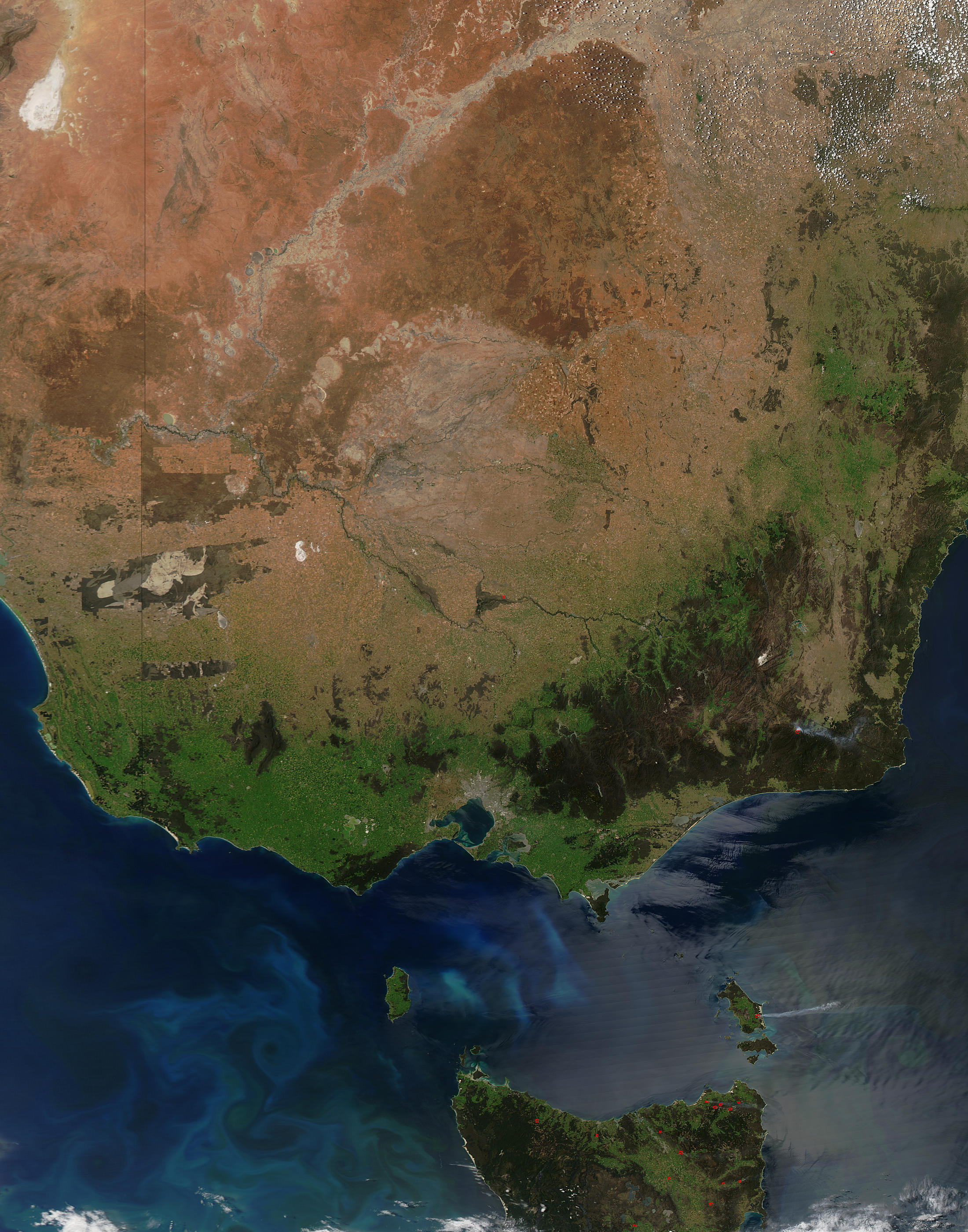 Southeastern Australia - related image preview