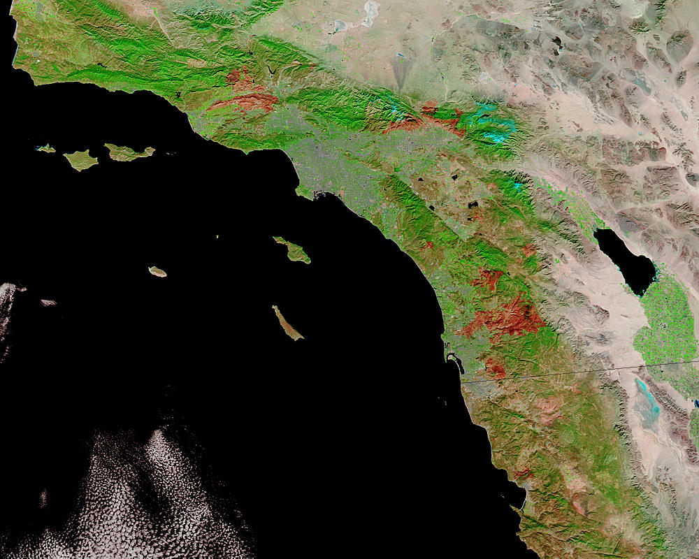 Burn scars in southern California - related image preview