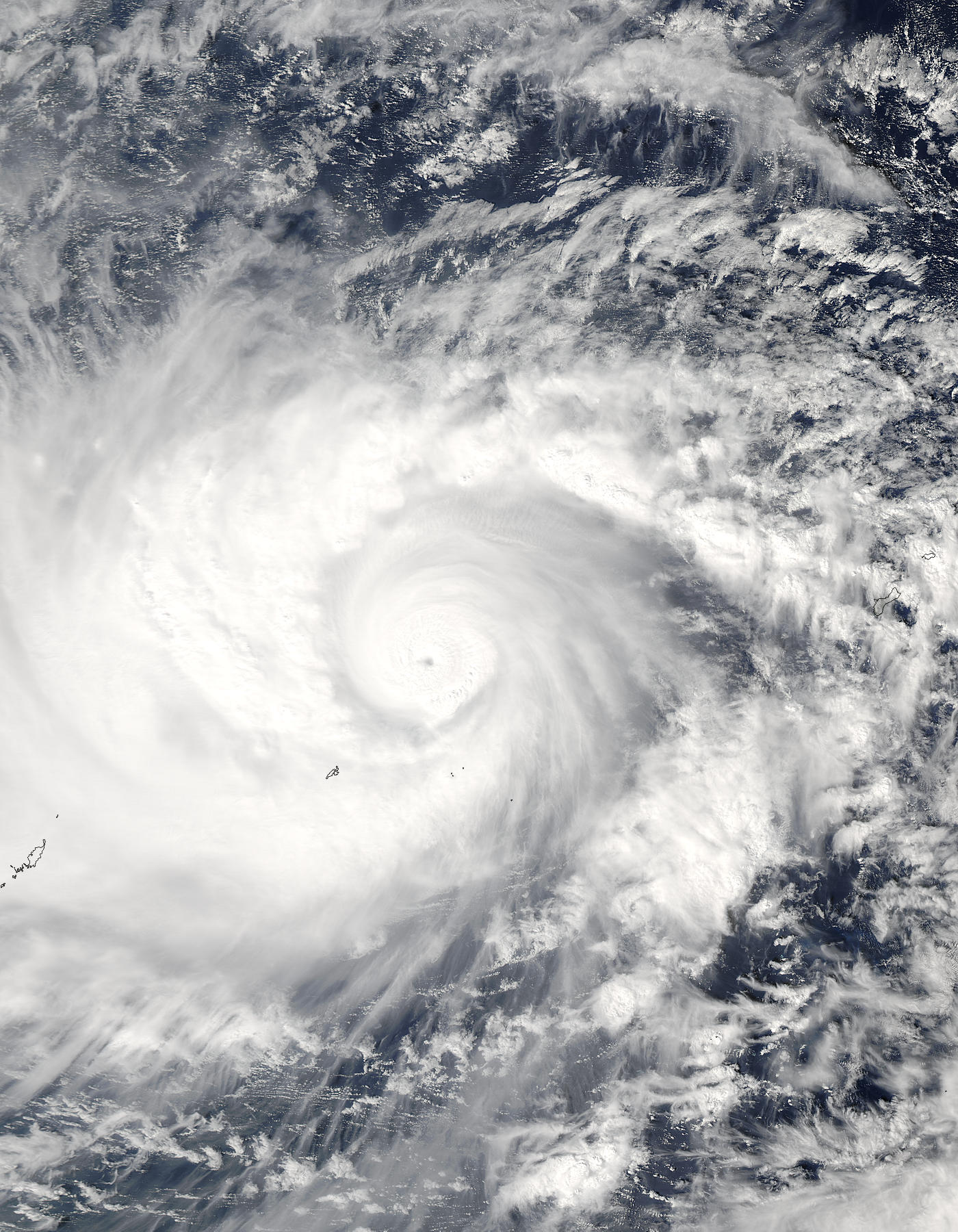 Typhoon Lupit (26W) east of Guam - related image preview