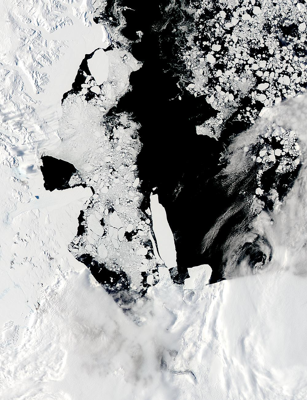 B-15A, B-15J, B-15K, and C-16 icebergs in the Ross Sea, Antarctica - related image preview