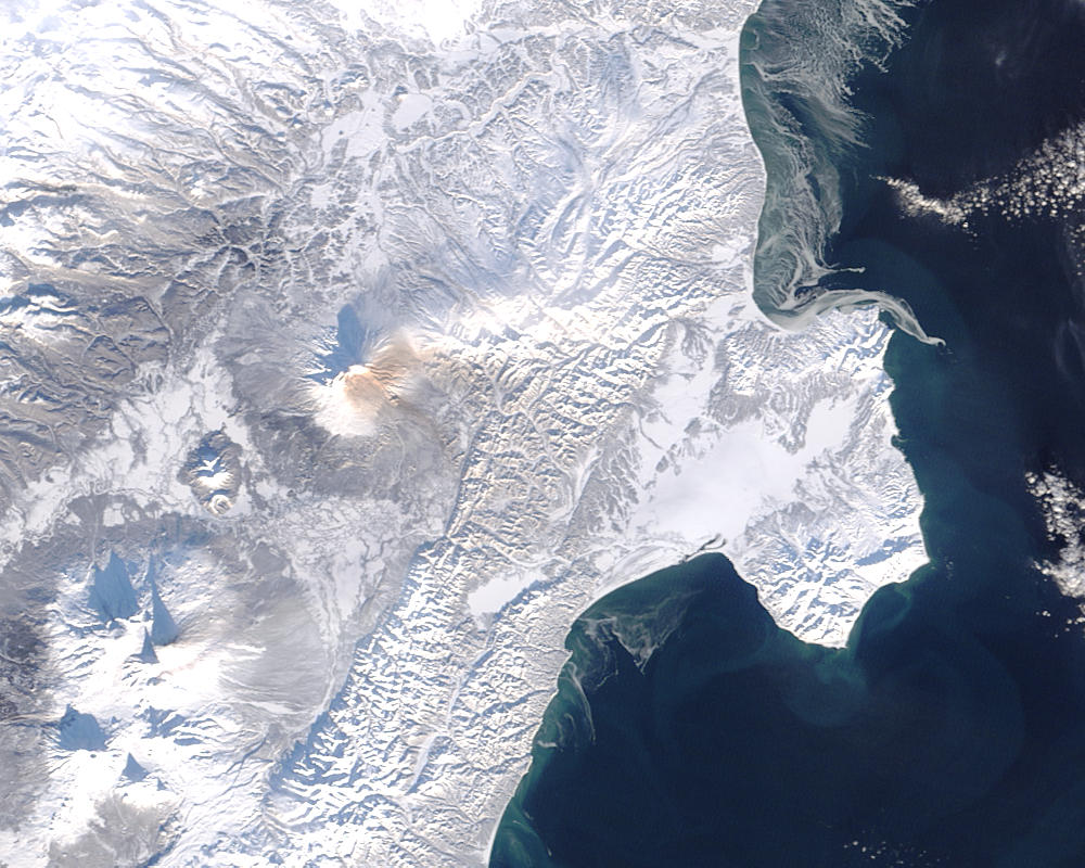 Ash plumes on Kamchatka Peninsula, eastern Russia - related image preview