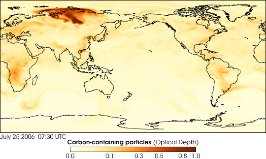 """Chemical Weather Forecasts:"" Carbon-Containing Particles"