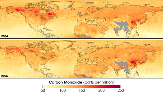Carbon Monoxide, Fires, and Air Pollution