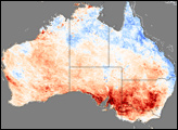 Australia Unusually Warm in September 2006