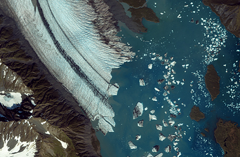 Bear Glacier, Gulf of Alaska - related image preview