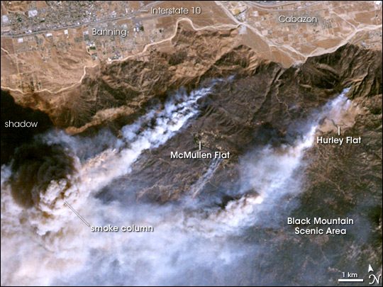 Esperanza Fire in California