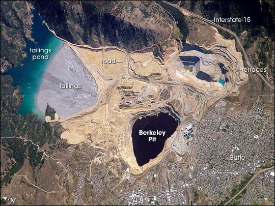 Berkeley Pit: Butte, Montana