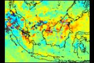 Carbon Monoxide over Borneo and Sumatra