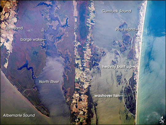 Currituck Sound, North Carolina, USA