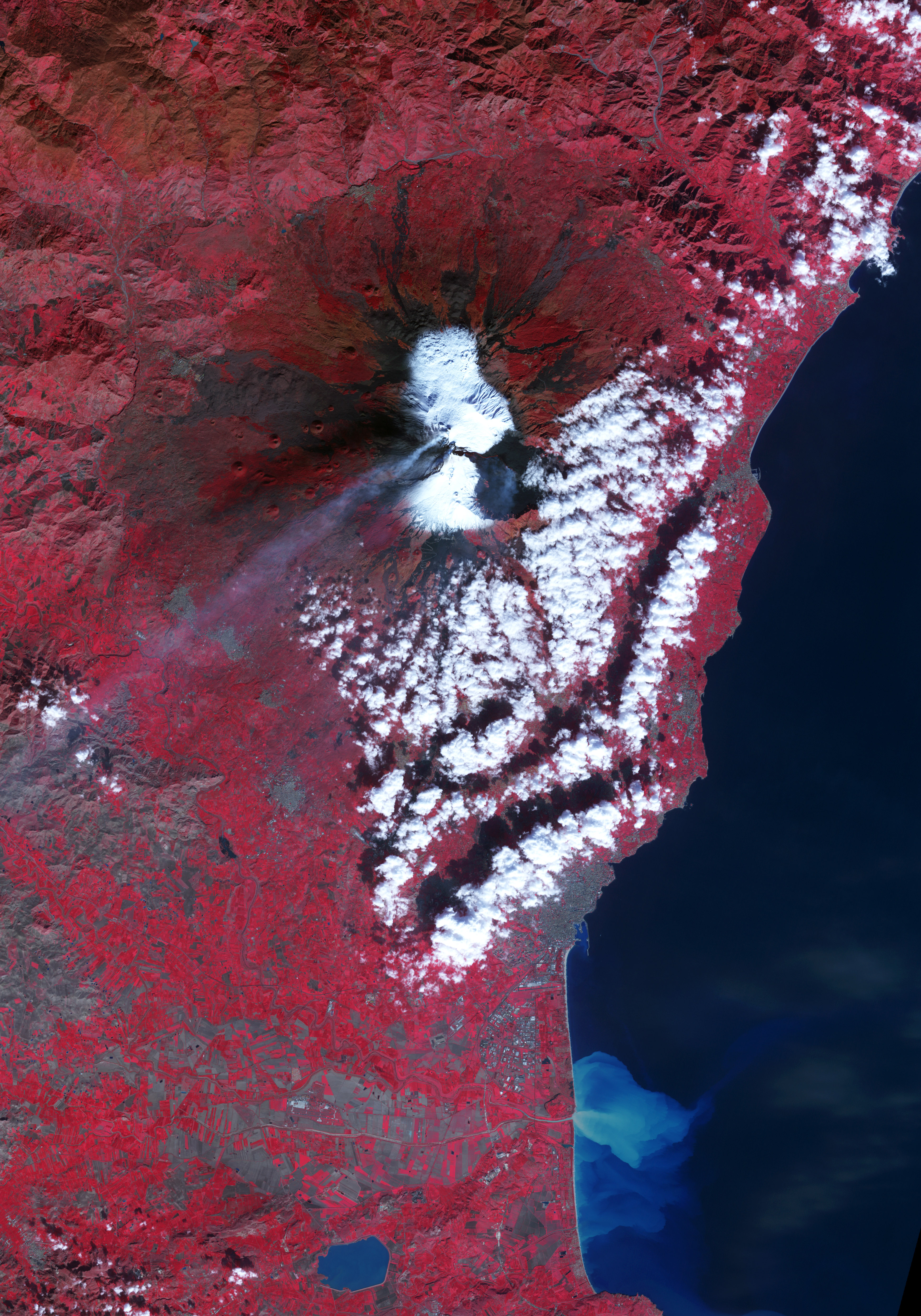 Lava Flow on Mount Etna - related image preview