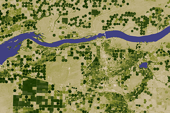 Irrigation and Land Surface Temperature in Oregon - related image preview