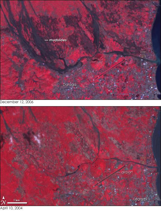 Mudslides in the Philippines