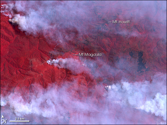 Fires in Alpine National Park, Victoria