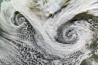 Extratropical Cyclones near Iceland - related image preview