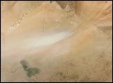 Bodele Depression Dust Feeds Amazon