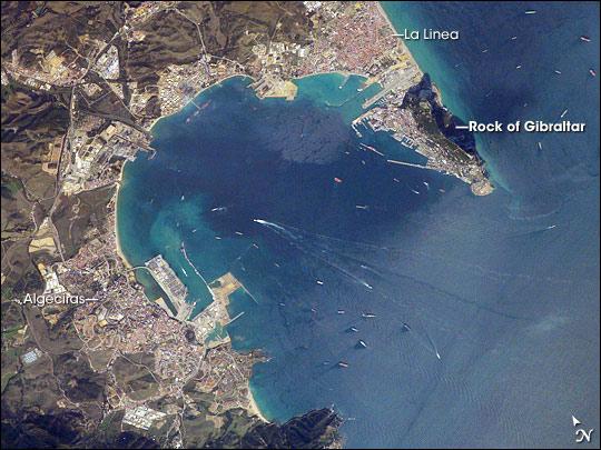 Gibraltar Bay, Western Mediterranean Sea