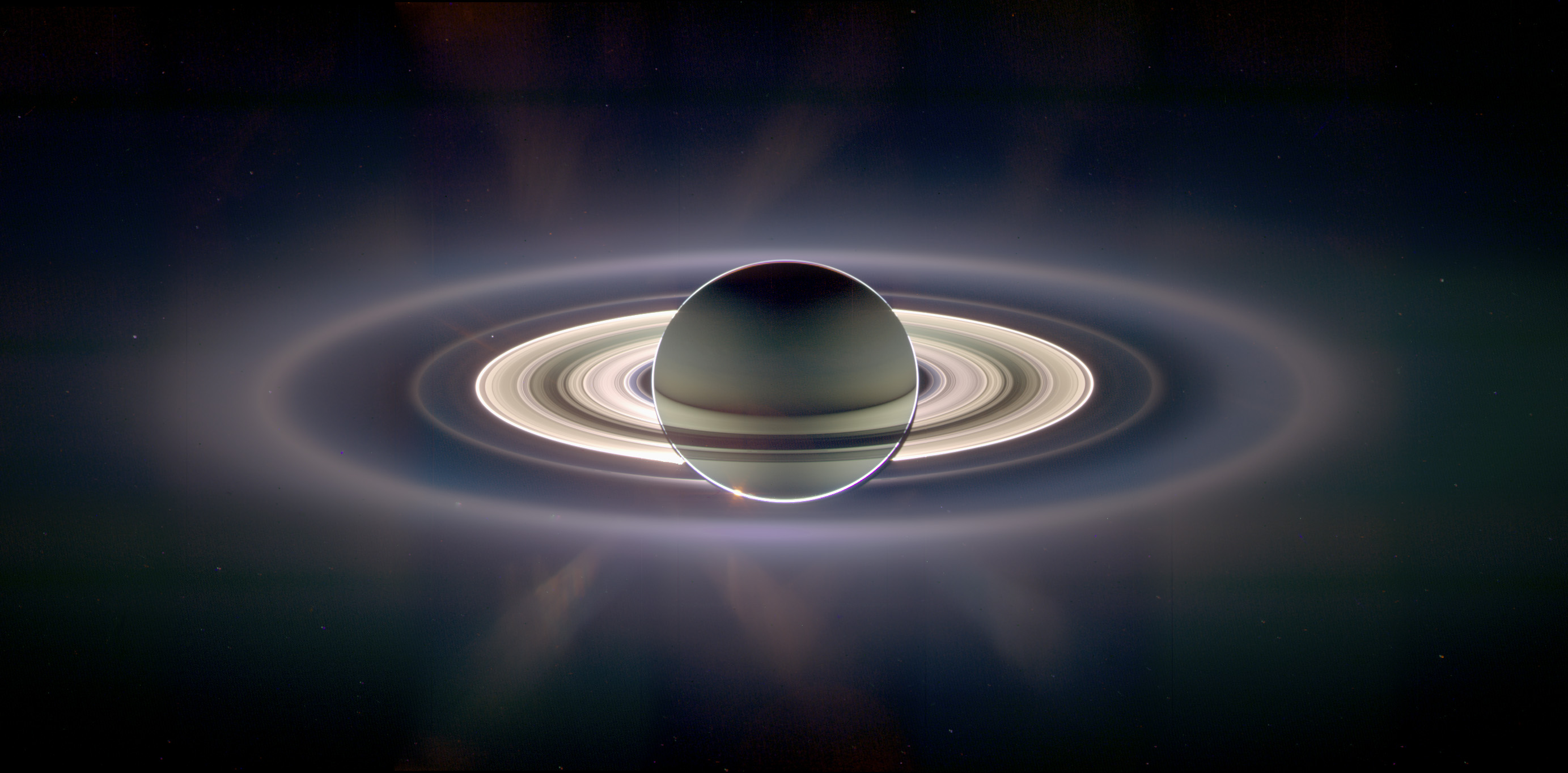 A View of Earth from Saturn - related image preview