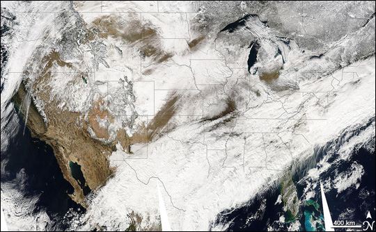 Winter Weather Across the United States