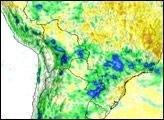 Rain Floods South America