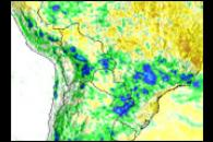 Rain Floods South America