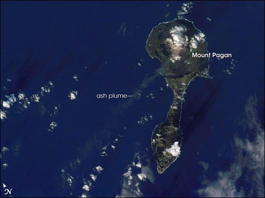Pagan Island, Northern Mariana Islands