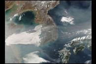 Haze over Korea