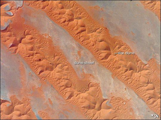 Erg Oriental, Algeria