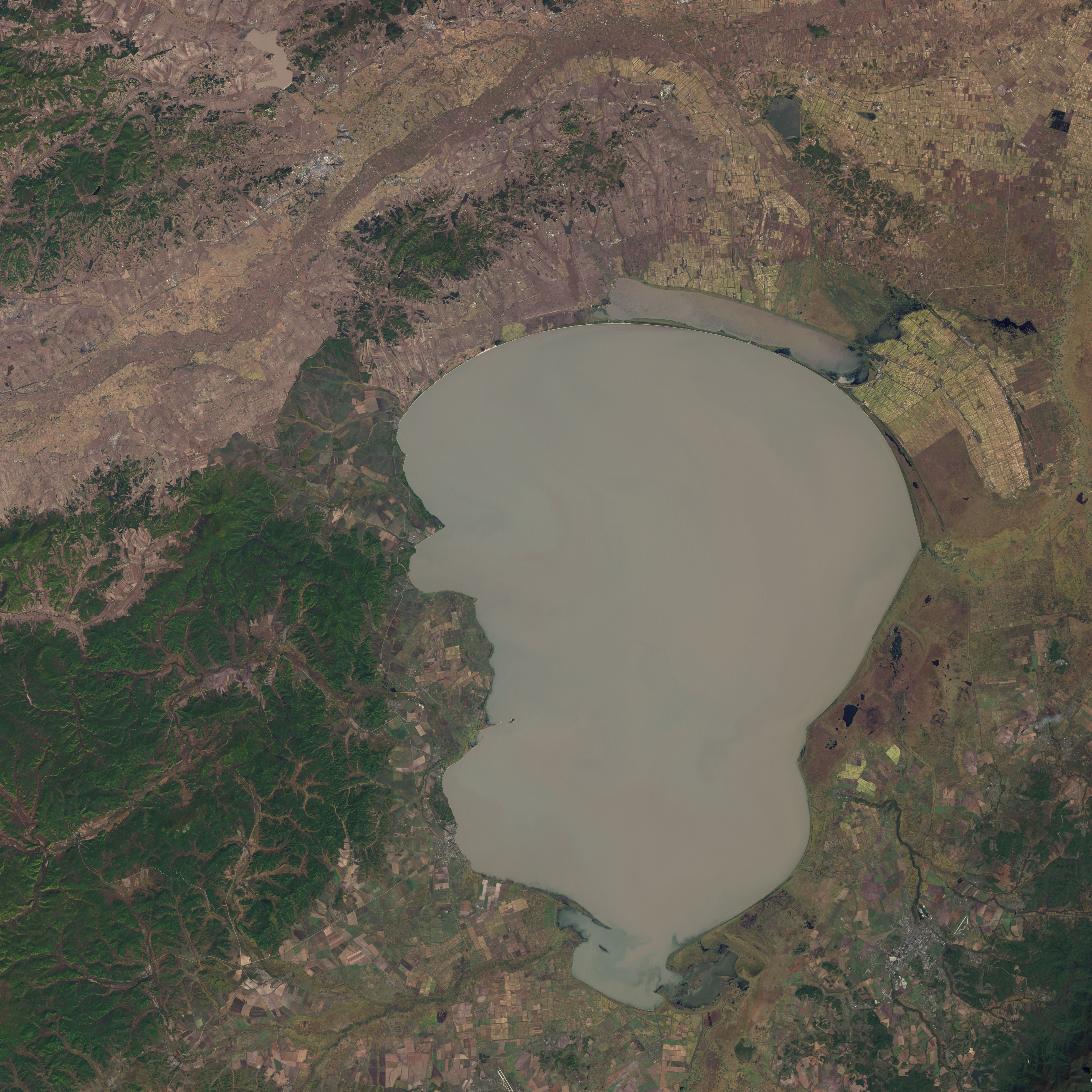 Lake Khanka in  Eastern Russia and China - related image preview