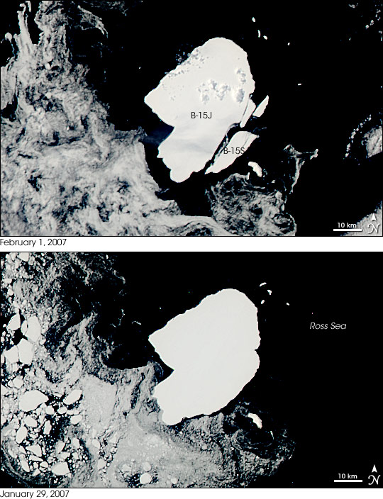 Another Iceberg from Former Ross Sea Giant