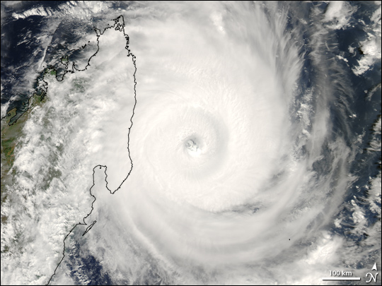 Tropical Cyclone Indlala