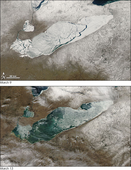 Changing Face of Lake Erie