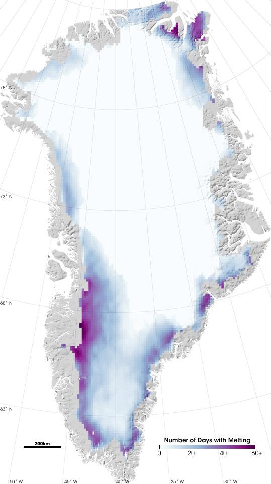 Melting Days on Greenland
