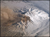 Plume at Shiveluch Volcano, Kamchatka Peninsula, Russia