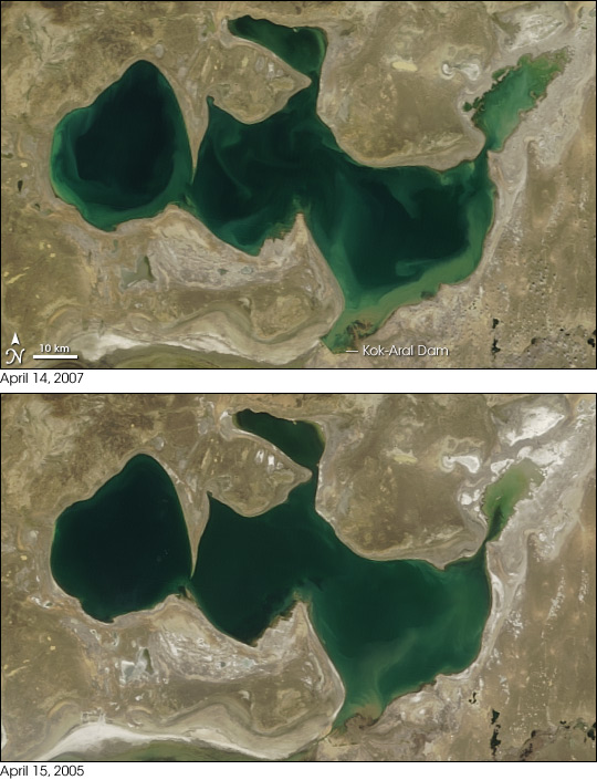 North Aral Sea Recovery