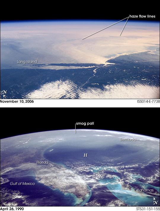 November 2006 Smog Event, U.S. Northeast