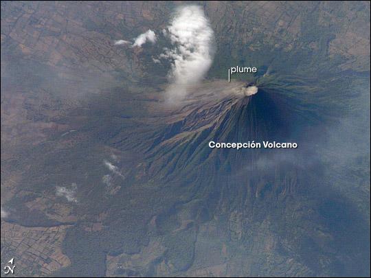 Concepcion Volcano, Nicaragua