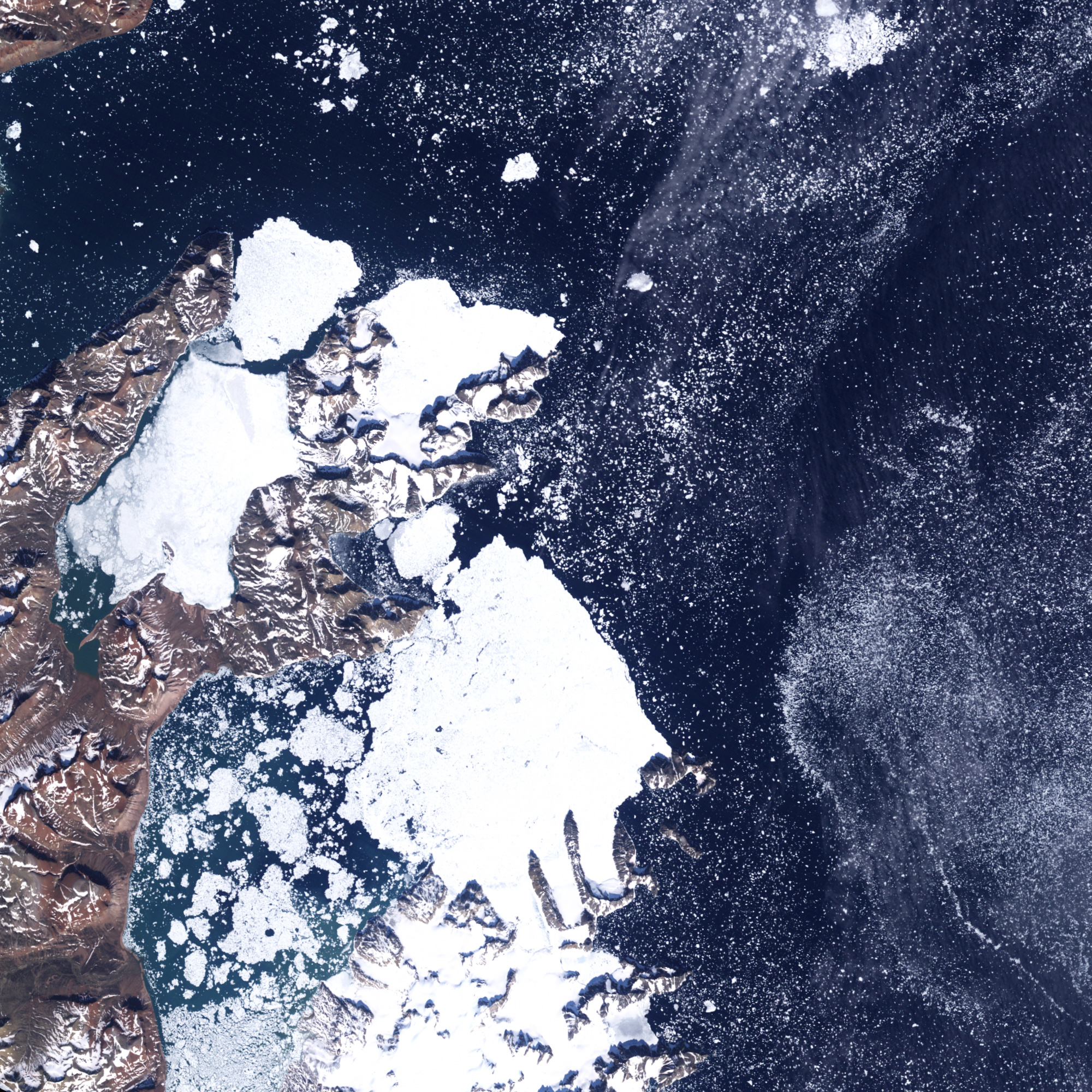 Melting Ice Reveals New Island off Greenland - related image preview