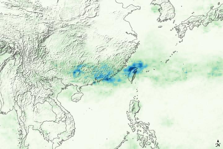 Torrential Rain in China