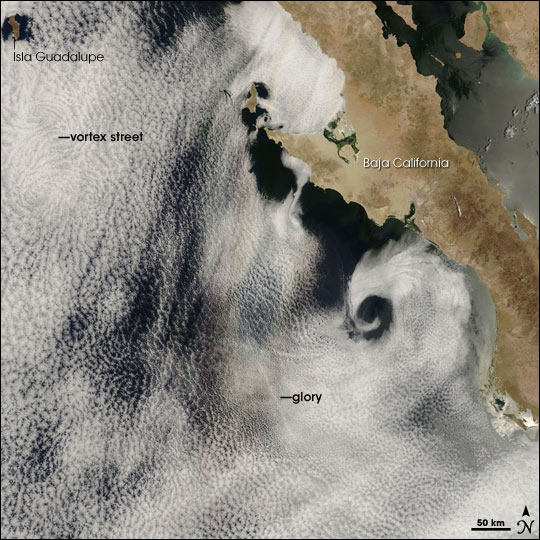 Glory, Vortex Street off Baja California