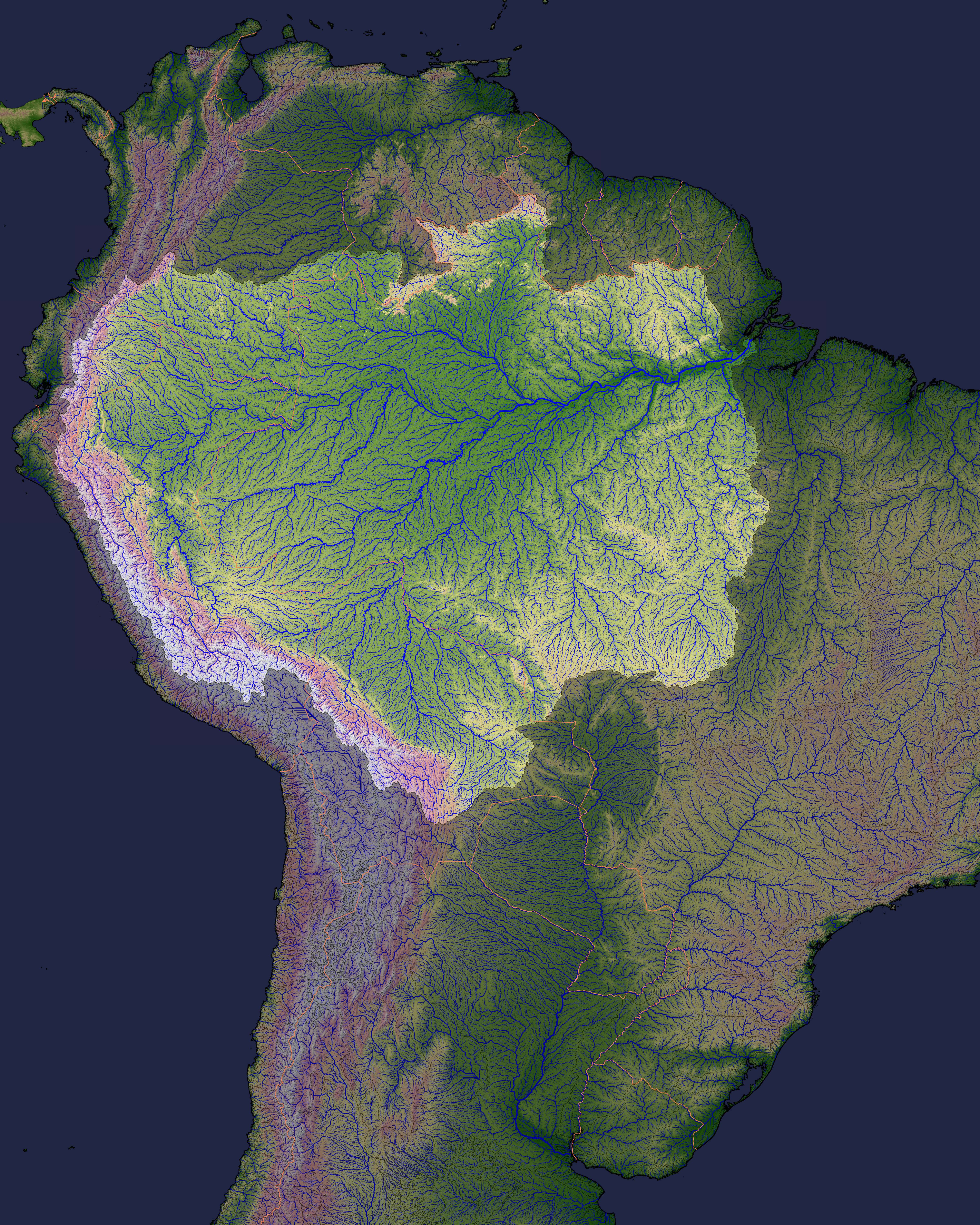 Source of the amazon river image of the day source of the amazon river gumiabroncs Images