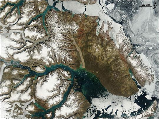 Summer Thaw, Eastern Greenland