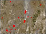 Fires in Nevada