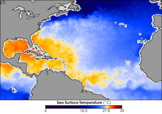 Hurricane-Ready Waters in the Atlantic