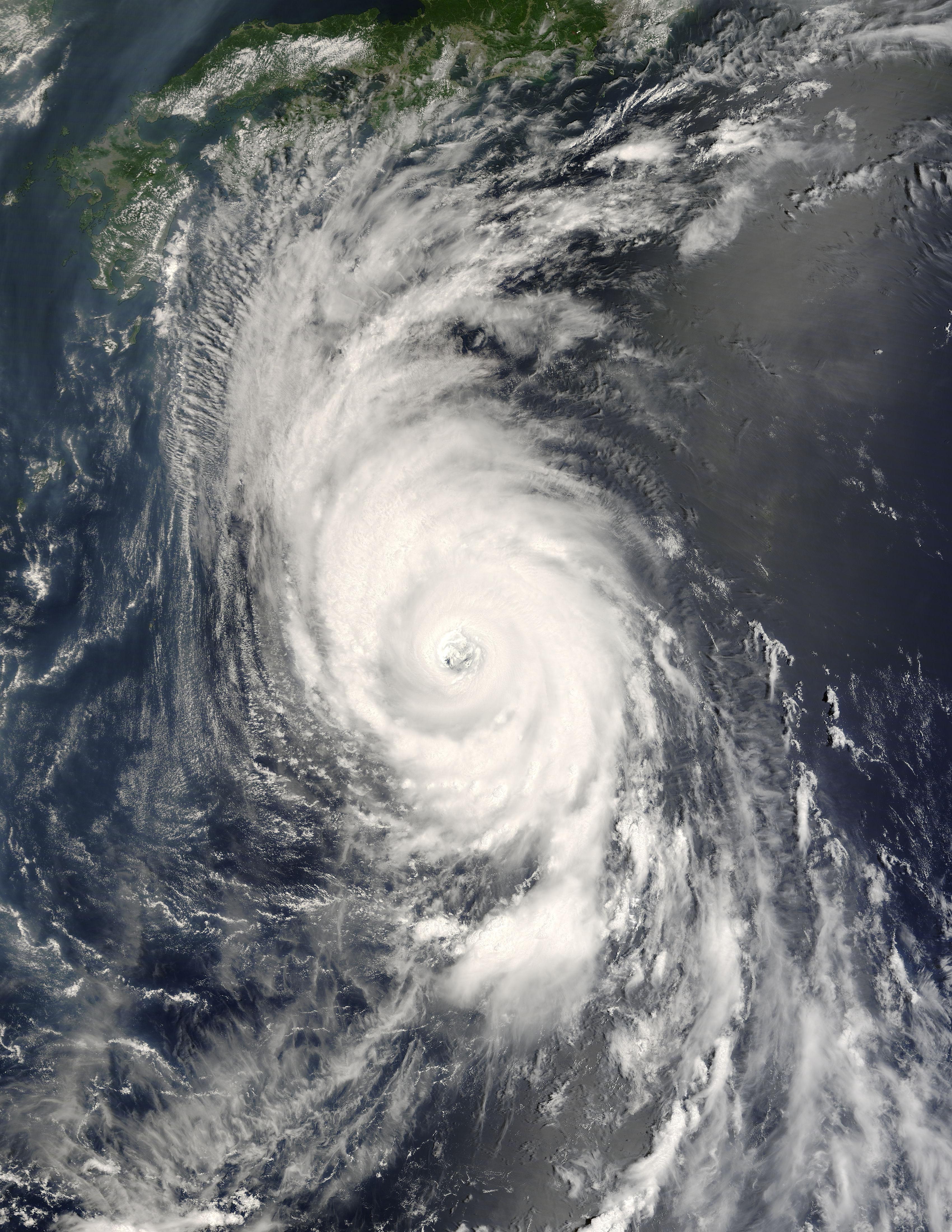 2007 年的第五號颱風烏莎吉 (Usagi)