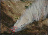 Zaca Fire, Southern California
