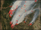 Raging Fires in Idaho and Montana