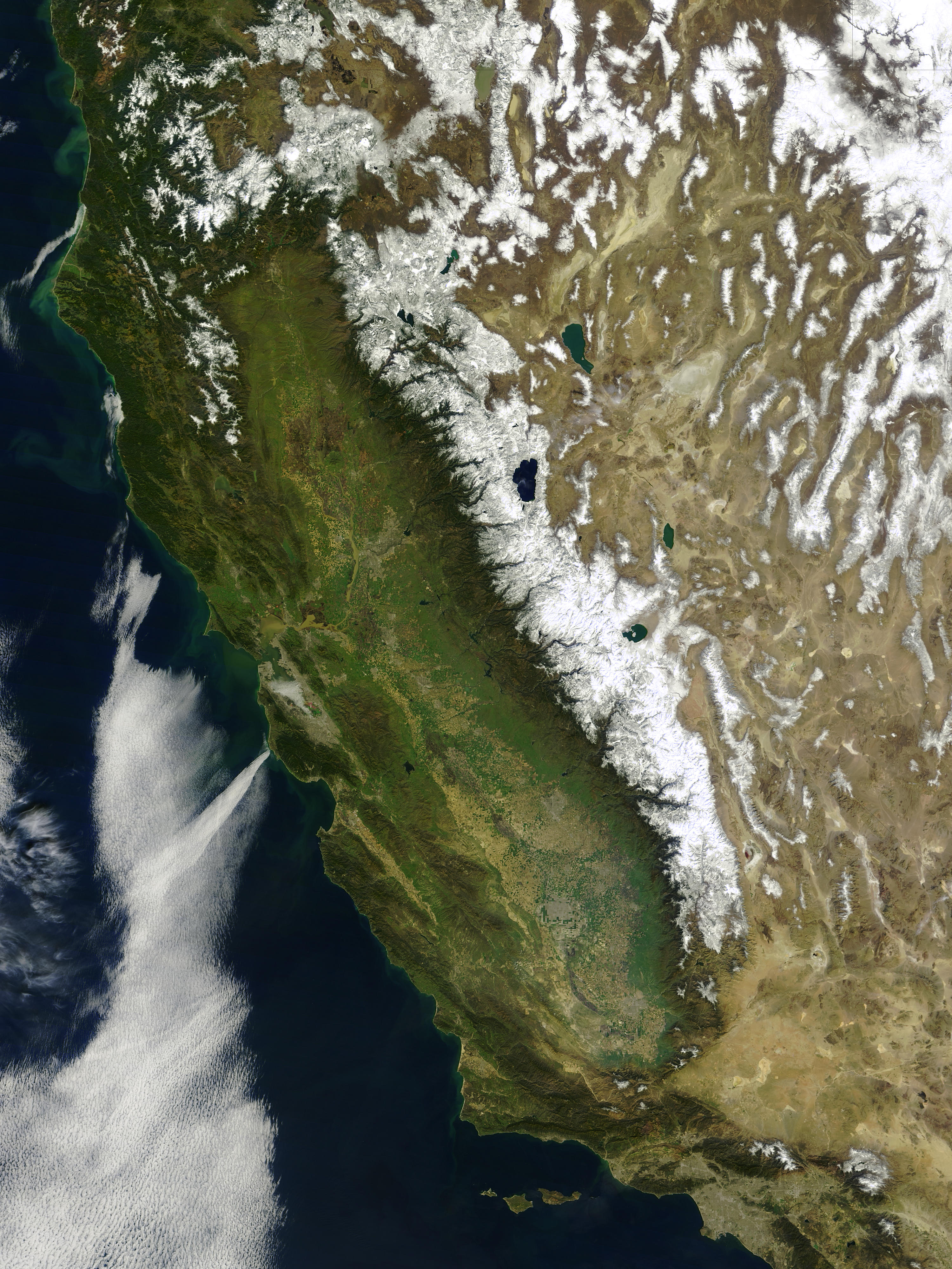 Snow and floods in California - related image preview