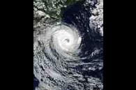 Tropical cyclone off Southern Brazil
