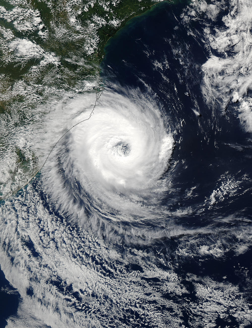 Tropical cyclone off Southern Brazil - related image preview