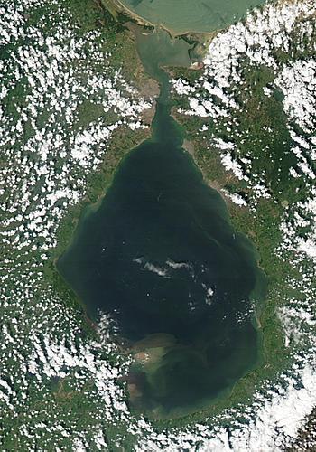 Nasa Visible Earth Lake Maracaibo Venezuela